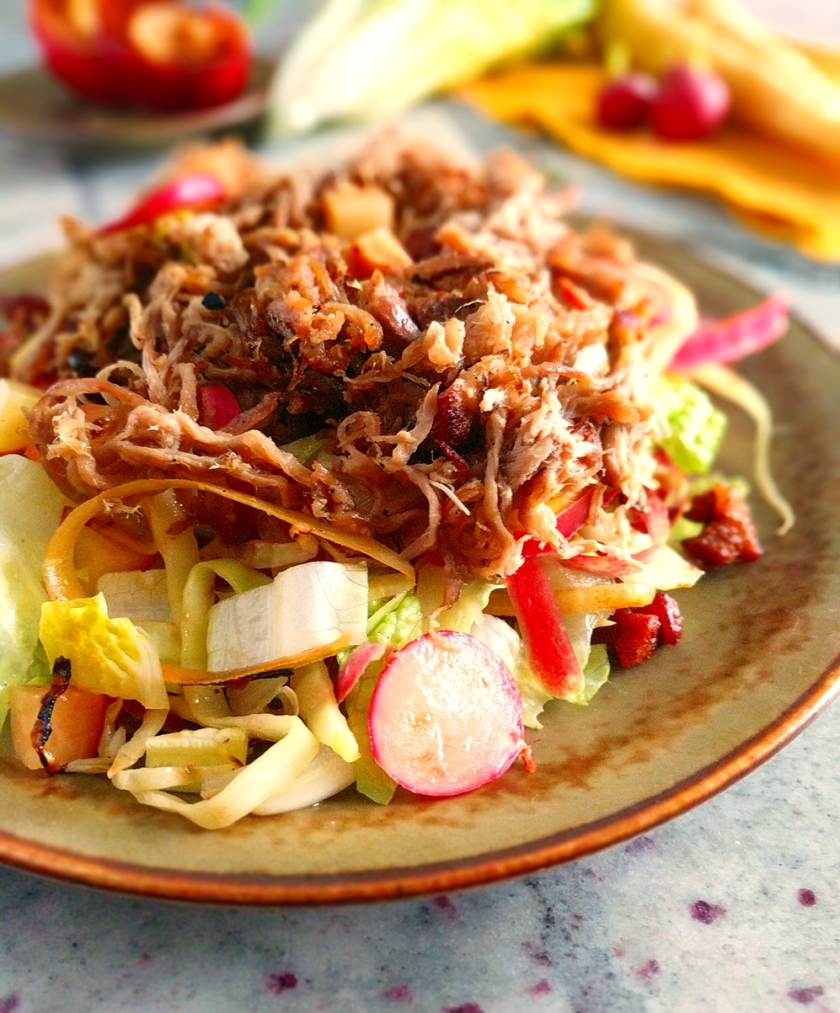 Slow-Cooker-Pulled-Pork-Salad