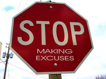 EXCUSES ARE NOT TO BERECYCLED