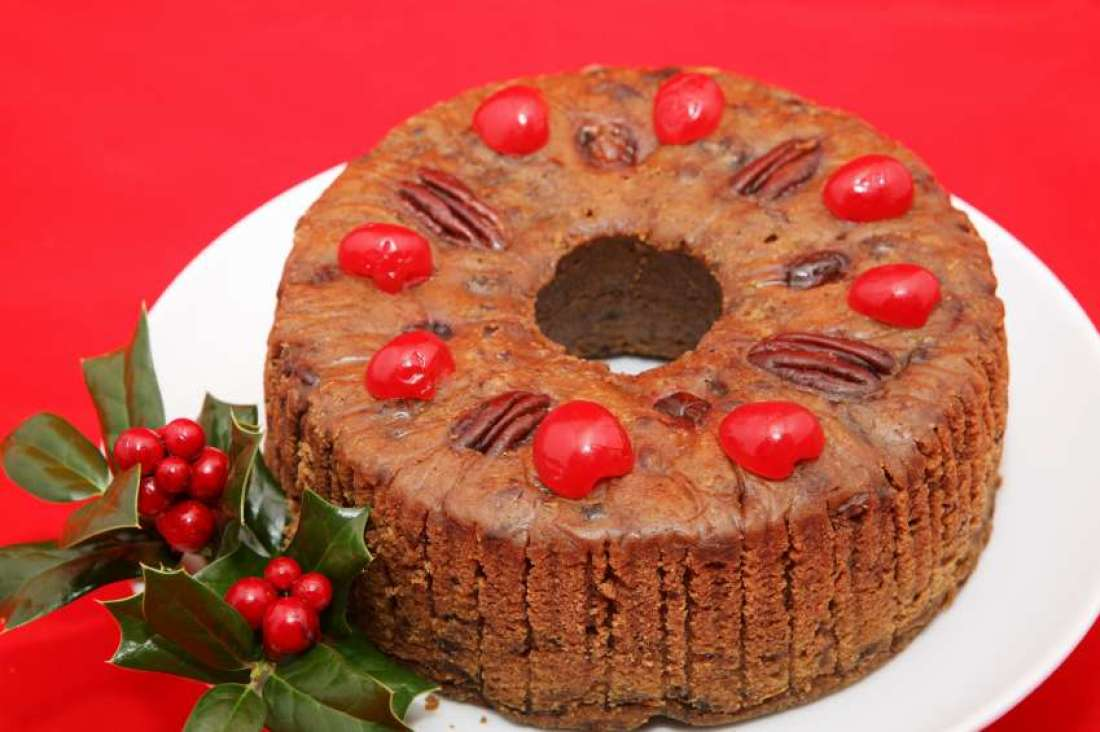 FRUITCAKE SEEMS TO FIT THISYEAR